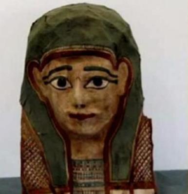 Hallan la copia del evangelio más antigua del mundo en una máscara de momia | Casa de la Sabiduría | Scoop.it