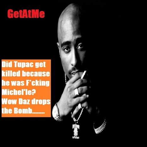 GetAtMe Did Tupac get killed because he was f*cking Michel'le?  Hmmm the Drama... | GetAtMe | Scoop.it