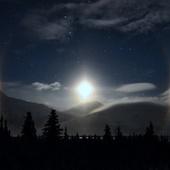 A ring of illuminated ice crystals encircle an Alaskan moon | Dragons Hoard | Scoop.it