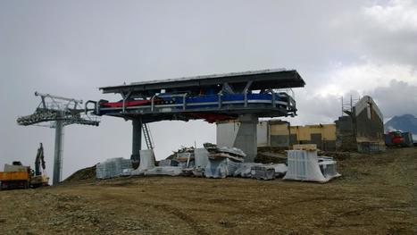 La nouvelle gare d'arrivée du télésiège des Bouleaux en construction | Saint-Lary | Vallée d'Aure - Pyrénées | Scoop.it