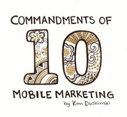 10 Commandments of Mobile Marketing | MobileMarketingProfits.com | QR Codes - Mobile Marketing | Scoop.it