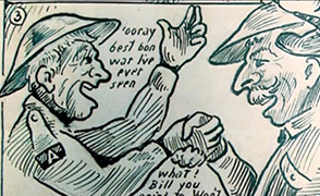 Comics and World Wars A Cultural Record - Arts & Humanities Research Council | World War One at Home | Scoop.it