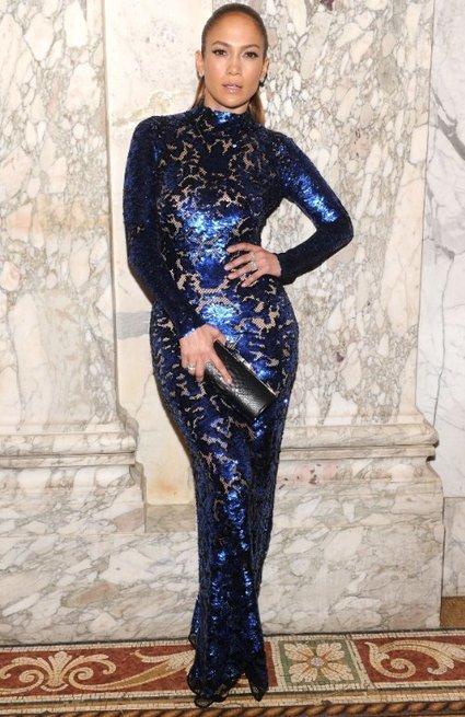 Jennifer Lopez in Curve-Hugging Tom Ford Sequin Gown | Celebrity Fashion News | Scoop.it
