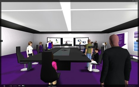 Five Uses for Virtual Worlds in the Workplace - brave new org | brave new org | Second Life and Education | Scoop.it