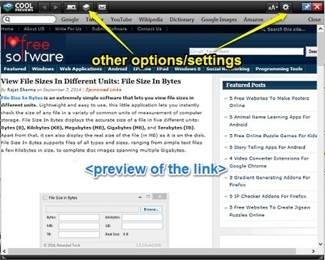 Firefox Addon to Preview Links by Mouseover: Cool Previews | Time to Learn | Scoop.it