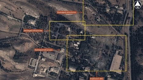 Airbus Satellite imagery shows Parchin explosion aftermath | GEOINT | Scoop.it