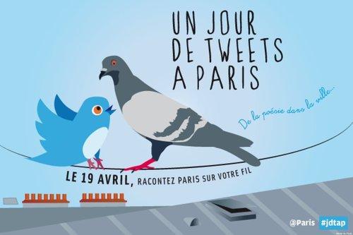 Paris se (la) raconte en 140 caractères