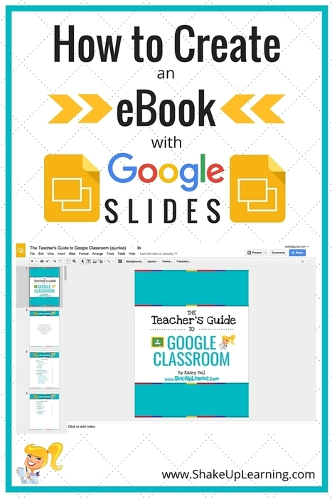 How to Create an eBook with Google Slides | Shake Up Learning | Digital Storytelling Tools, Apps and Ideas | Scoop.it