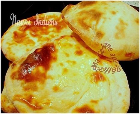 Naan, pain indien   La cuisine de Djouza recettes faciles et rapides   Boulange   Scoop.it