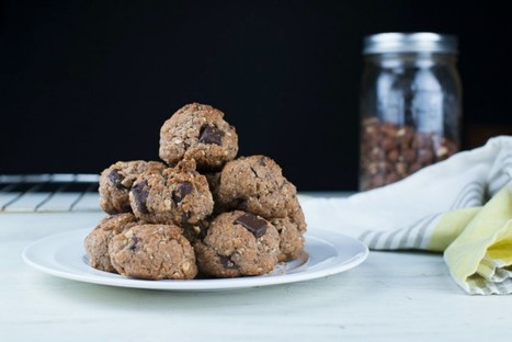 Hazelnut and Chocolate Chunk Spelt Cookies [Vegan] | My Vegan recipes | Scoop.it