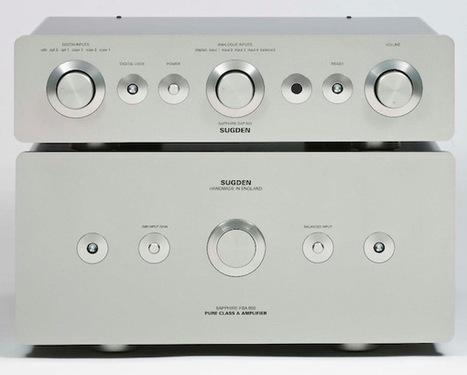 Sugden Sapphire DAP-800 et FAB-800 : 40 watts en Pure Classe A | ON-TopAudio | Scoop.it