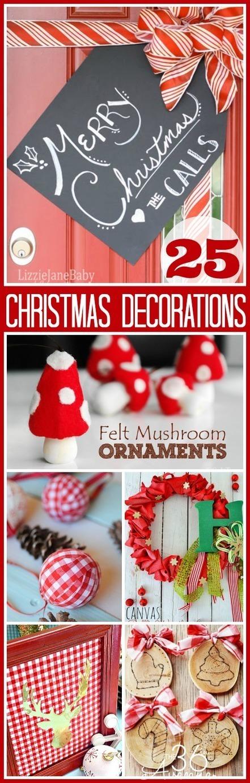25 DIY Christmas Decorations   Christmas Craft   Scoop.it
