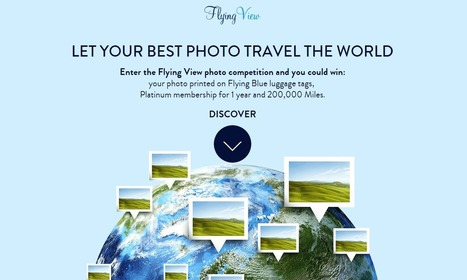 #FlyingView, Air France transforme vos clichés de voyage en ... | E-tourisme vidéo storytelling Evalir-Evatourisme | Scoop.it