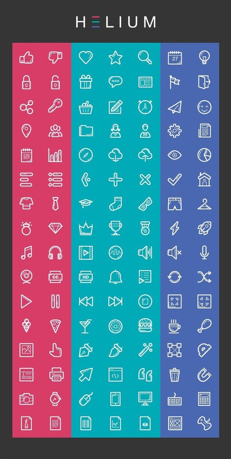 Free Icons for Web and User Interface Design # 73 | Web design | Scoop.it