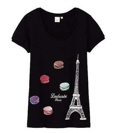 Uniqlo et Ladurée, les tee-shirts caritatifs | Les évènements Japon en France | Scoop.it