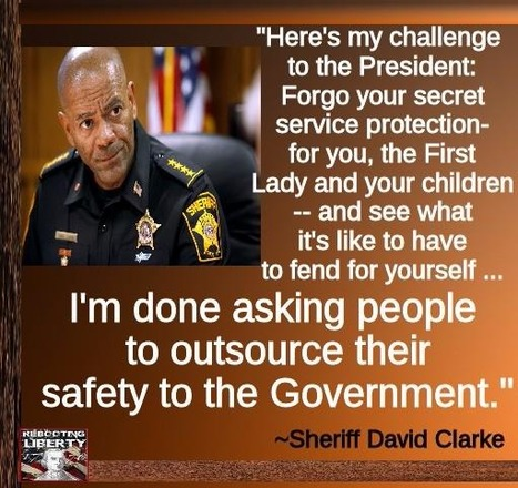 Sheriff David Clarke issued a challenge to President Obama | Criminal Justice in America | Scoop.it