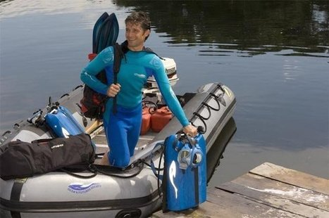 Jacques-Yves Cousteau Grandson to Break Underwater Record - Guardian Liberty Voice | DiverSync | Scoop.it