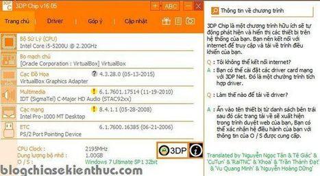 Tìm kiếm driver máy tính cực nhanh với 3DP Chip/ 3DP Net | SEO, BUSINESS, TAG | Scoop.it