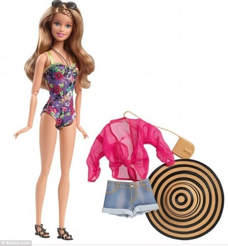 Barbie is finally able to wear flat shoes after 56 years of heels | Kickin' Kickers | Scoop.it