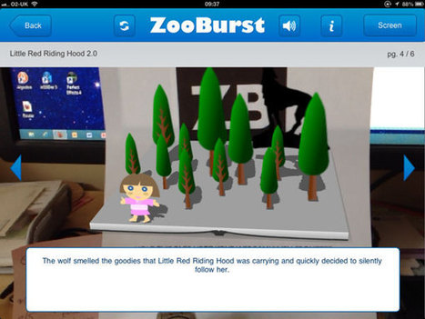 Zooburst iPad App - 3D Storybooks with extra Augmented Reality | iPads, MakerEd and More  in Education | Scoop.it