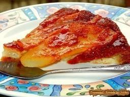 Tarta cu pere. Tatin cu pandispan | Food and recipes | Scoop.it