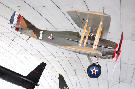 The Spad XIII - the American Air Museum, IWM, Duxford | Warbirds | Scoop.it