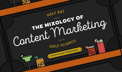 The Mixology of Content Marketing - #Infographic | Content marketing | Scoop.it