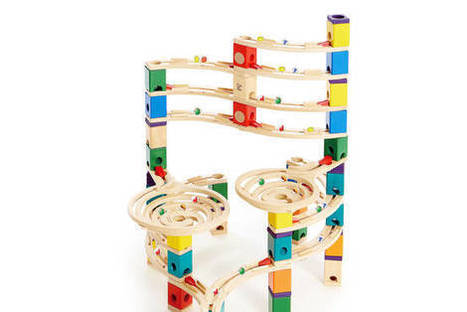 How Wooden Toys Teach Kids to Code - WallStreetJournal | Keeping up with Ed Tech | Scoop.it
