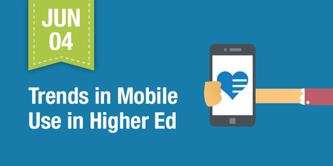 Trends in Higher Education: The Growing Use of Mobile Learning | Educomunicación | Scoop.it