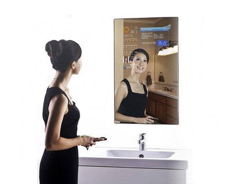Cybertecture Mirror, ο νέος hightech καθρέφτης!   KgTechnology   Scoop.it