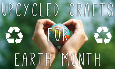 25 Upcycled Craft Projects for Earth Month - Care2 | Crafty | Scoop.it