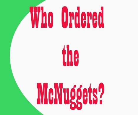 Who ordered the McNuggets? - ELTjam | The Grammar Story | Scoop.it