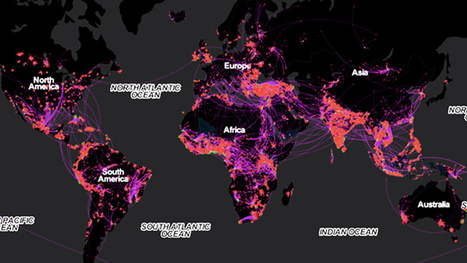 What Facebook Tells Us About the Hidden Paths of Mass Migration | Geography Education | Scoop.it