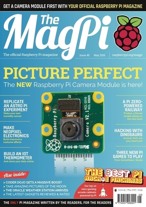 Learn all about the new Raspberry Pi Camera Module v2 in The MagPi 45 | Raspberry pi Project | Scoop.it