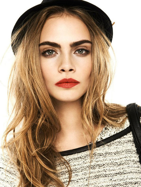 Close-Up With Cara Delevingne: 2012's Model of the Year   Fashion News by JustLuxe   crazy about fashion   Scoop.it