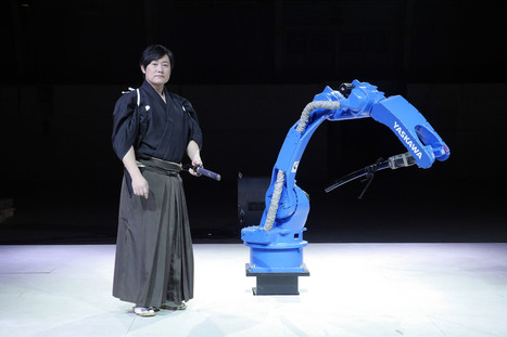 Japanese Sword Master Tests His Skills Against an Industrial Robot in an Incredible Demonstration | Websharing | Scoop.it