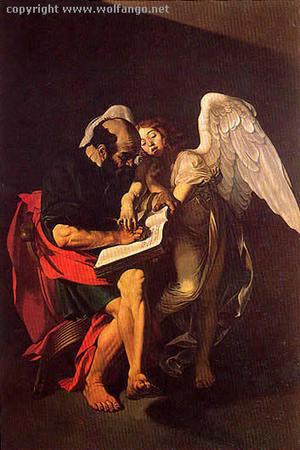 Caravaggio: San Matteo e l'angelo, confronto tra le due versioni | Capire l'arte | Scoop.it