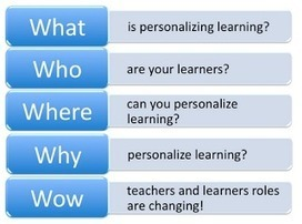 The 5 W's of Personalized Learning eCourse - Summer Series Starts July 16th | Personalize Learning (#plearnchat) | Scoop.it