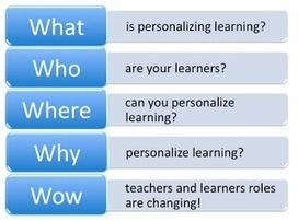 The 5 W's of Personalized Learning eCourse - Starts January 9th, 2014 | Making Learning Personal | Scoop.it