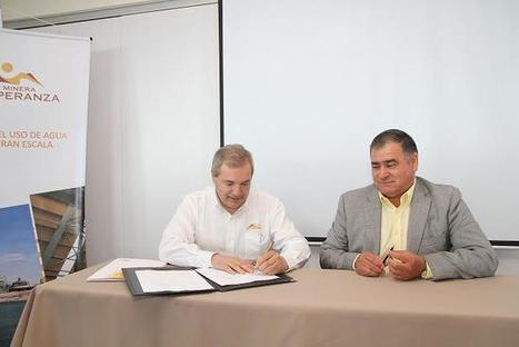 Minera Esperanza suscribió convenio de colaboración con municipio de Mejillones | Energía y Minería en Chile | Scoop.it
