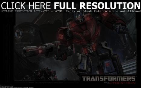 Download Transformers Cybertron Wallpapers HD #4590 Wallpaper | gamejetz.com | gamejetz wallpapers | Scoop.it