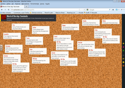Try Wall Wisher for collaborativelearning | Moodle and Web 2.0 | Scoop.it