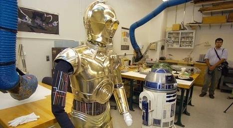 R2-D2 et C-3PO se haïssent   Star Wars: épisode 7   Scoop.it