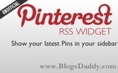 Add A Latest Pins (Pinterest) Board Widget To Blogger Blog - Blogs Daddy | Blogger Tricks, Blog Templates, Widgets | Scoop.it