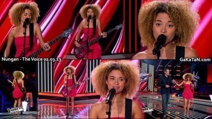 Photos : Nungan sexy dans The Voice (02/03/13) | Radio Planète-Eléa | Scoop.it