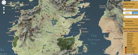 'Juego de Tronos': ¡Increíble mapa interactivo de los Siete Reinos! - SensaCine | Juego de Tronos | Scoop.it