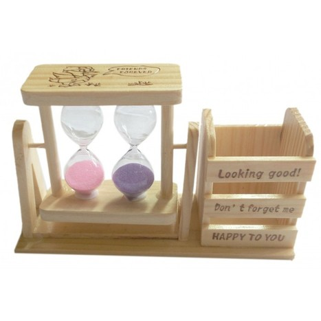 Wooden Sand Timer Pen Holder | Cac196 | Centenarian Art Crafts Buy Online Free Shipping Cod Onlineshoppee Buy Online Wooden Products | Onlineshoppee | Scoop.it