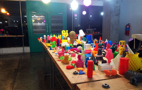 The Makerz 3D Printing Shop Opens - 3D Printing Industry | Manufacturing | Scoop.it