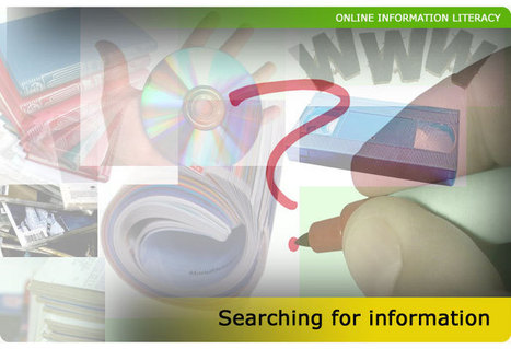 OIL | Searching for information | Study Help | Scoop.it