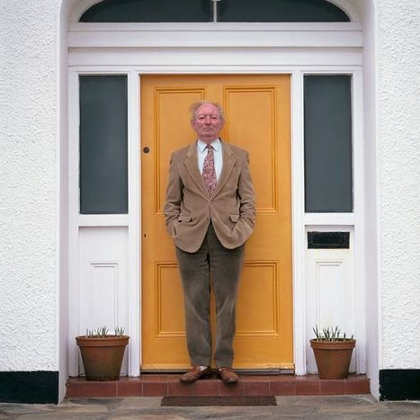 Brian Friel by Bobbie Hanvey - Portraits of a Playwright | The Irish Literary Times | Scoop.it